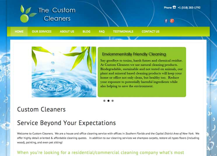 The Custom Cleaners